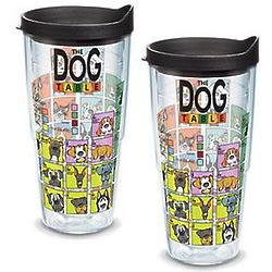 2 Dog Periodic Table 24 Oz. Tervis Tumblers with Lids