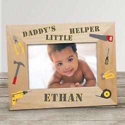 Personalized Little Helper Photo Frame