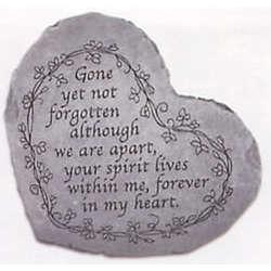 Gone, Yet Not Forgotten Memorial Stone
