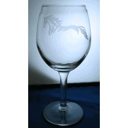Riatta Horse Wine Glasses