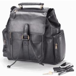 Urban Survival Backpack in Vachetta Black