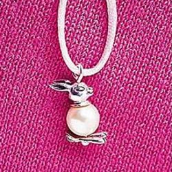 Pearly Bunny Necklace