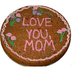 "12"" Decorated Giant Cookie Cake for Mother's Day"