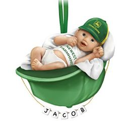 John Deere Baby's First Christmas Ornament