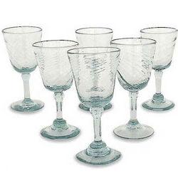 Contoured Wine Glass Set