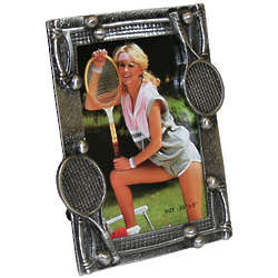 Forty Love Pewter Picture Frame