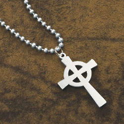 US Military Celtic Cross Necklace