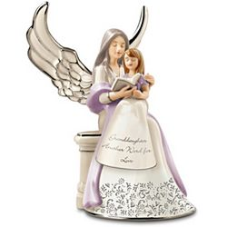 Musical Angel Porcelain Figurine For Granddaughter