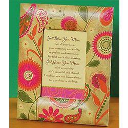 Flower Frame with Mom Poem