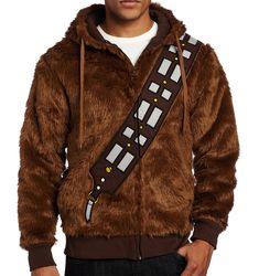 I Am Chewie Chewbacca Furry Hoodie Sweatshirt