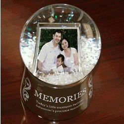 Memories Digital Photo Snow Globe