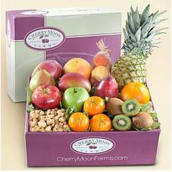 Tropical Fruits and Nuts Gift Box