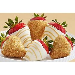 Half Dozen Dipped Champagne Strawberries