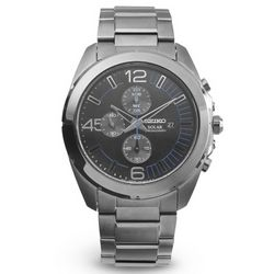Men's Solar Chronograph Wrist Watch