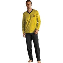 Yellow Kirk Star Trek Pajamas