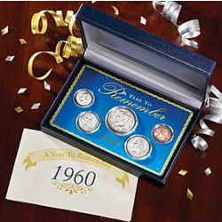 Year to Remember 5-Piece Coin Set Years 1965 to 2011