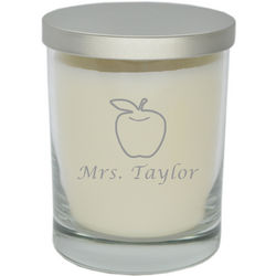 Teacher Appreciation Personalized Soy Candle