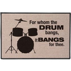 For Whom the Drum Bangs Doormat