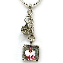 Football Photo Keychain