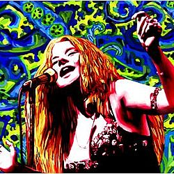 Janis Joplin Pop Art Print