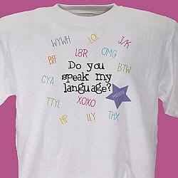 Do You Speak My Language Youth T-Shirt