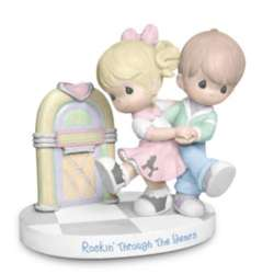 Precious Moments Rockin' Through The Years Fifties Figurine