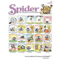 Spider Magazine Subscription