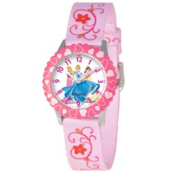 Personalized Disney Stainless Steel Multi-Princess Watch
