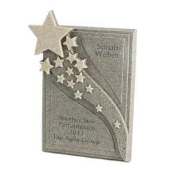 Star Streams Personalized Plaque