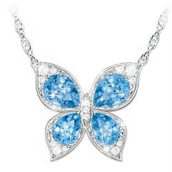 The Wings of Beauty Color-Changing Butterfly Pendant Necklace
