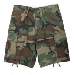 Woodland Camo Field Shorts