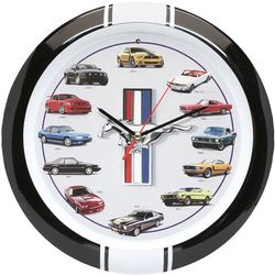 History of the Mustang Clock