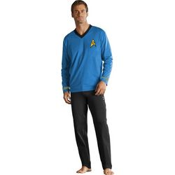 Blue Spock Star Trek Pajamas