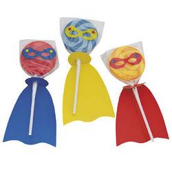 Superhero Swirl Pops