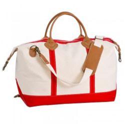 Weekender Bag in Red
