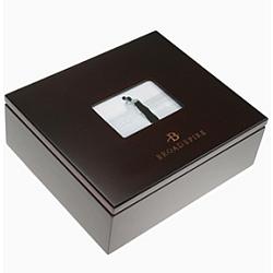 Engraved Rosewood Finish Memory Box