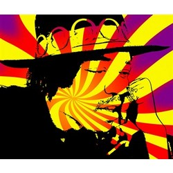 Jimi Hendrix Pop Art Limited Edition Print