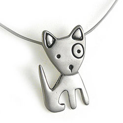 Spunky Puppy Necklace