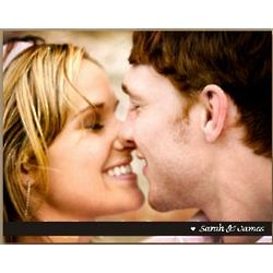 Personalized Couples Photo Wall Canvas