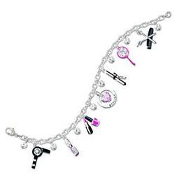 Hair Stylist's Fashion Charm Bracelet