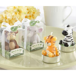 Born to be Wild Animal Candle Favors