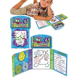 Squiggle Monsters Pad