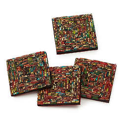 Recycled Bangle Coasters