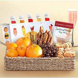 Champagne Treats Gift Basket