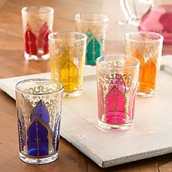 Moroccan Medina Tea Glasses