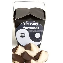 Chocolate Dipped Gourmet Fortune Cookies