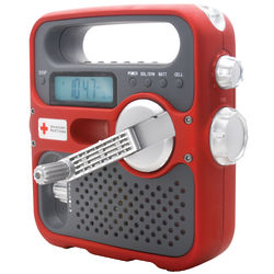 Emergency AM/FM Radio with Light