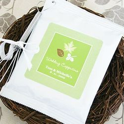 Fall for Love Personalized Cappuccino Wedding Favors