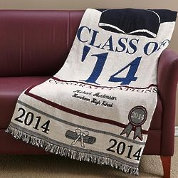 Personalized Graduation Afghan