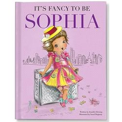 Girl's Personalized Fancy To Be Me Book